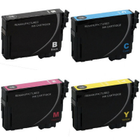 Remanufactured Epson T220XL120 / T220XL220 / T220XL320 / T220XL420 Inkjet Cartridge MultiPack