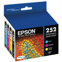 Epson T252120-BCS InkJet Cartridge Combo Pack