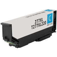 Remanufactured Epson T277XL220 Cyan Inkjet Cartridge