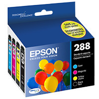 Epson T288120-BCS Inkjet Cartridge Value Pack