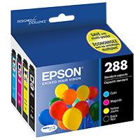 Epson T288120-BCS Inkjet Cartridge Value Pack