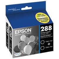 Epson T288120-D2 Inkjet Cartridge Twin Pack