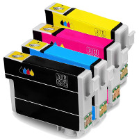 Remanufactured Epson T288XL120 / T288XL220 / T288XL320 / T288XL420 Inkjet Cartridge MultiPack