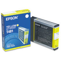 Epson T481011 Yellow InkJet Cartridge