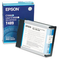 Epson T489011 Cyan / Light Cyan InkJet Cartridge