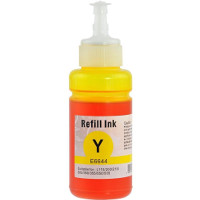 Remanufactured Epson T664 Yellow ( T664420 ) Yellow Ink Bottles