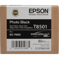 OEM Epson T8501 ( T850100 ) Photo Black Inkjet Cartridge
