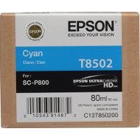 OEM Epson T8502 ( T850200 ) Cyan Inkjet Cartridge