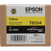 OEM Epson T8504 ( T850400 ) Yellow Inkjet Cartridge