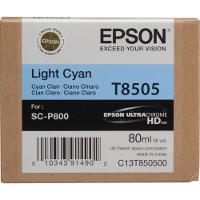 OEM Epson T8505 ( T850500 ) Light Cyan Inkjet Cartridge
