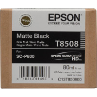 OEM Epson T8508 ( T850800 ) Matte Black Inkjet Cartridge