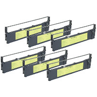 Fujitsu CA02460D115 Compatible Printer Ribbons (6/Pack)