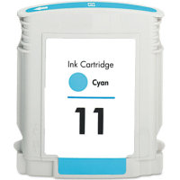 Hewlett Packard HP C4836AN ( HP 11 Cyan ) Remanufactured InkJet Cartridge