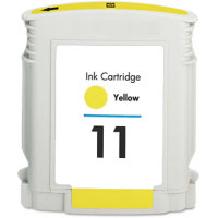 Hewlett Packard HP C4838AN ( HP 11 Yellow ) Remanufactured InkJet Cartridge