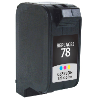 Hewlett Packard HP C6578A / C6578AN / HP 78 Replacement InkJet Cartridge
