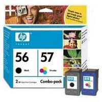 Hewlett Packard HP C9321FN ( HP 56/57 ) InkJet Cartridge Combo Pack