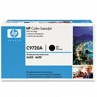 Hewlett Packard HP C9720A Black Laser Toner Cartridge