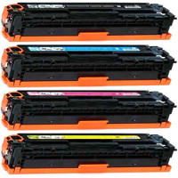 Hewlett Packard HP CE320A / CE321A / CE322A / CE323A Compatible Laser Toner Cartridge MultiPack