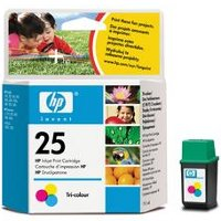 Hewlett Packard HP 51625A ( HP 25 ) Inkjet Cartridge