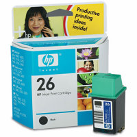 Hewlett Packard HP 51626A ( HP 26 ) Inkjet Cartridge