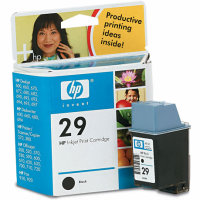 Hewlett Packard HP 51629A ( HP 29 ) Black Inkjet Cartridge