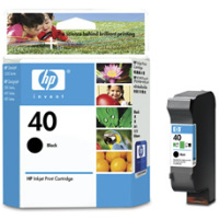 Hewlett Packard HP 51640A ( HP 40 ) Black Inkjet Cartridge