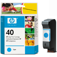 Hewlett Packard No.40 ( HP 51640C ) Cyan Inkjet Cartridge