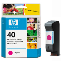 Hewlett Packard HP 51640M ( HP 40 ) Magenta Inkjet Cartridge