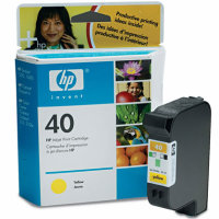 Hewlett Packard HP 51640Y ( HP 40 ) Yellow Inkjet Cartridge