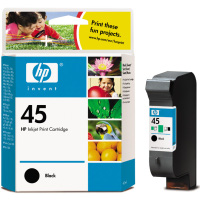 Hewlett Packard HP 51645A ( HP 45 ) Black Inkjet Cartridge