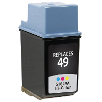 Hewlett Packard HP 51649A / HP 49 Replacement InkJet Cartridge
