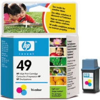 Hewlett Packard HP 51649A ( HP 49 ) Regular Size Color InkJet Cartridge
