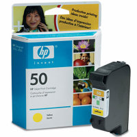Hewlett Packard HP 51650Y Yellow Inkjet Cartridge