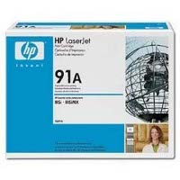 Hewlett Packard HP 92291A ( HP 91A ) Microfine Black Laser Toner Cartridge