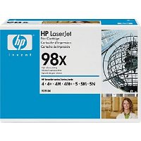 Hewlett Packard HP 92298X ( HP 98X ) High Capacity Black Laser Toner Cartridge