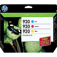 Hewlett Packard HP B3B30FN ( HP 920 ) InkJet Cartridge Creative Combo Pack