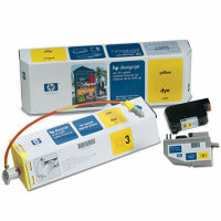 Hewlett Packard HP C1809A Yellow InkJet Cartridge