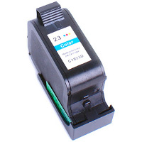 Hewlett Packard HP C1823A ( HP 23 ) Remanufactured InkJet Cartridge