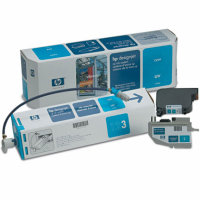 Hewlett Packard HP C1893A Cyan UV Inkjet Cartridge