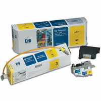 Hewlett Packard HP C1895A Yellow UV Inkjet Cartridge