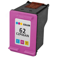 Remanufactured HP HP 62 Color ( C2P06AN ) Multicolor Inkjet Cartridge (Made in North America; TAA Compliant)