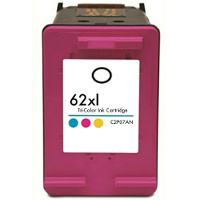 Hewlett Packard HP C2P07AN / HP 62XL Tri-Color Remanufactured Inkjet Cartridge