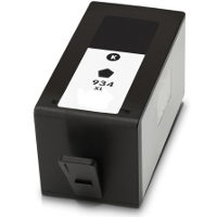 Remanufactured HP HP 934XL Black ( C2P23AN ) Black Inkjet Cartridge (Made in North America; TAA Compliant)