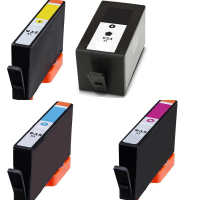 Remanufactured HP 934XL Black / 935XL Cyan / 935XL Magenta / 935XL Yellow Inkjet Cartridge MultiPack