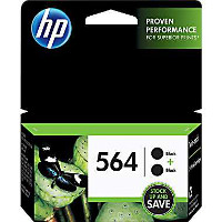 Hewlett Packard HP C2P51FN ( HP 564 Black Twin Pack ) InkJet Cartridges