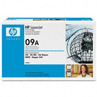 Hewlett Packard HP C3909A ( HP 09A ) Black Microfine Laser Toner Cartridge