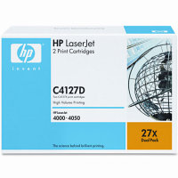 Hewlett Packard HP C4127D ( HP 27X ) Laser Toner Cartridges