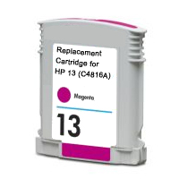 Hewlett Packard HP C4816A ( HP 13 Magenta ) Remanufactured InkJet Cartridge