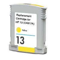 Hewlett Packard HP C4817A ( HP 13 Yellow ) Remanufactured InkJet Cartridge