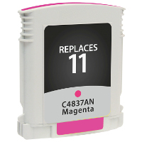 Hewlett Packard HP C4837AN / HP 11 Magenta Replacement InkJet Cartridge